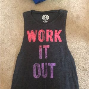 Work out shirt
